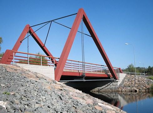 الجسور الخشبية