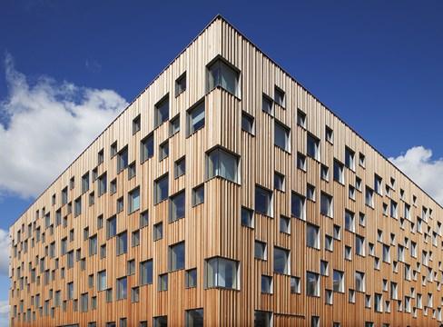 مبنى كلية الهندسة المعمارية في جامعة أوميو  (Umeå universitet)
