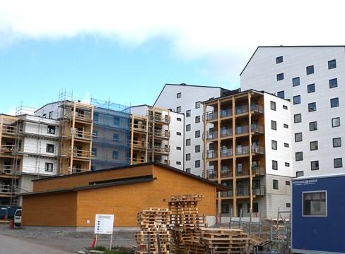 حي Vallen في Växjo