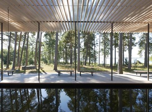 Skogssauna Tomtebo