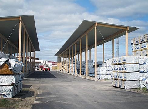 Virkesmagasin Tunadal - Sundsvall