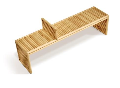 Pusu tea bench، مصمم بواسطة تشن يانفي