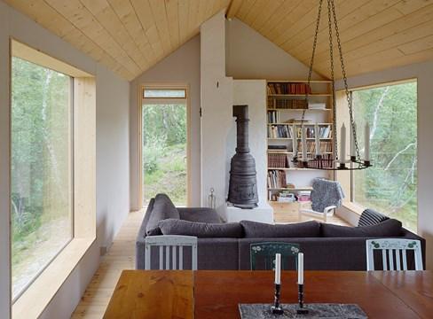 المنزل الريفي Fritidshus Ljungdalen تصميم