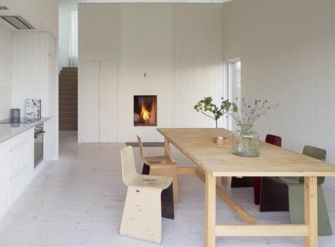 المنزل الريفي Fritidshus Kyrkesund تصميم
