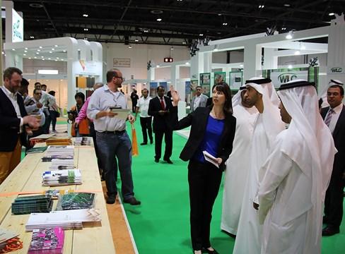 يؤكد معرض دبي للأخشاب Dubai Wood Show موقف Svenskt Trä القوي في المنطقة
