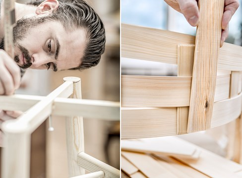 #DesigninPine - تسعة تصميمات حديثة للأثاث تعزز الخشب الصنوبري في السويد والصين